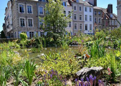 jardin éphémère 2018 les fables de La Fontaine