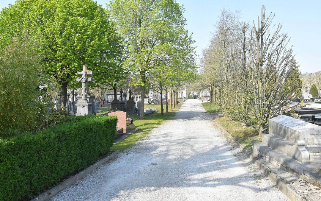 Le cimetière de l'Est