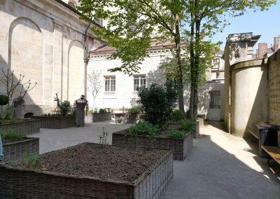 jardin de la basilique