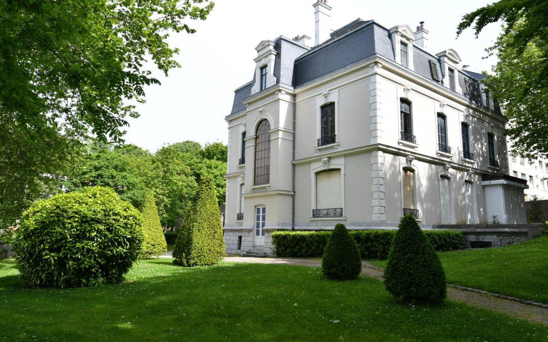 Le jardin de la Villa Huguet