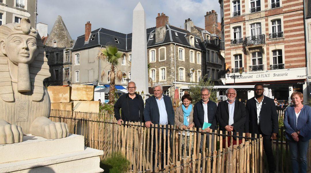 Le jury du label « villes et villages fleuris » à Boulogne-sur-Mer